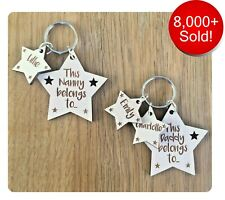 Personalised Gifts For Daddy Grandad Nanny Nana Auntie Uncle Mummy Keyring Gifts
