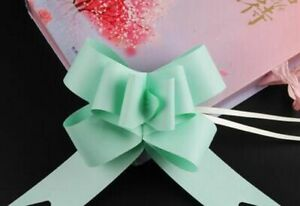 Solid Pull Bow Ribbons For Wedding Favors Birthday Gift Supplies Creative Ribbon
