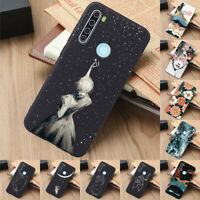 For Xiaomi Redmi 5 6A Note 7 8 9S Pro Slim Soft Silicone Painted TPU Case Cover