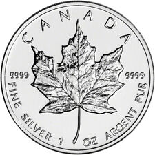 1997 Canada Silver Maple Leaf - 1 oz - $5 - BU