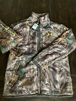 Under Armour Realtree Camo Hunting Scent Control Rut Jacket Men's Small