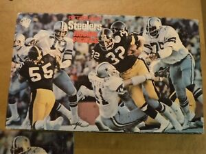 PITTSBURGH STEELERS SUPER BOWL X 1977 STEELERS SUPER BOWL JIGSAW PUZZLE FRANCO
