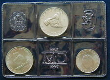 1988 Italy 3 silver coins triptych UNIVERSITY OF BOLOGNA UNC/BU  in official box