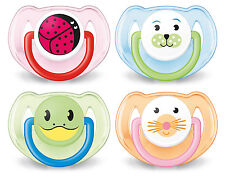 AVENT SOOTHER ANIMAL 6-18 MONTHS 2 PACK