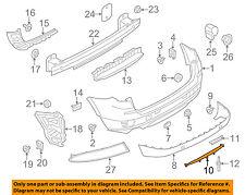 BMW OEM 15-17 X3 Rear Bumper-Cover 51127413497