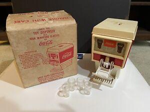 Vintage Coca-Cola Toy Dispenser Andy Gard w/Box