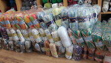 JOB LOT WOOL new ASSORTED COLOURS hand knitting wool YARN MEGGA DEAL500 BALL 003