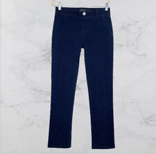 NEW Betabrand Yoga Jeans Womens Size Medium Straight Leg Denim Pull On Stretch