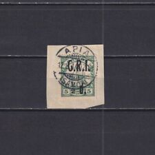 SAMOA, British Occupation 1914, Mi#2, CV€20, Ship, Overprint, Used