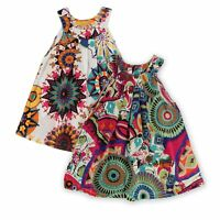 Kids Baby Girls Summer Dress Princess Party Flower Tutu Dress Skirt Clothes 2-7Y
