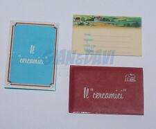 BARILLA MULINO BIANCO SORPRESINE 1983 IL CERCAMICI ROSSO