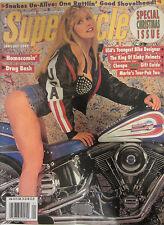 Supercycle Magazine January 1993 Homecomin' Drag Bash USA's Youngest bike design
