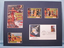 """Zsa Zsa Gabor - """"Queen of Outer Space"""" & First Day Cover honoring Space Fantasy"""