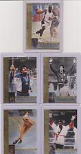 1996 UPPER DECK OLYMPIC REFLECTIONS ~ (10) CARD CHASE SET ~ W/ MICHAEL JORDAN