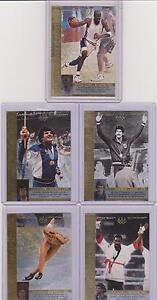 1996 UPPER DECK OLYMPIC REFLECTIONS ~ (10) CARD CHASE SET ~ W/ MICHAEL JORDAN