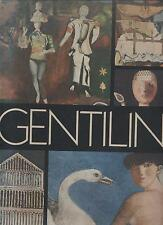 GENTILINI con dedica autografa Il cigno Edizioni d'arte 1971 arte dei maestri *