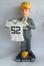 CLAY MATTHEWS Green Bay Packers 2009 Draft Day Bobblehead Away ONLY 100 MADE