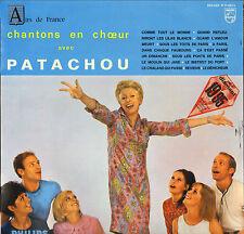 """PATACHOU """"CHANTONS EN CHOEUR"""" 60'S LP PHILIPS 77023"""