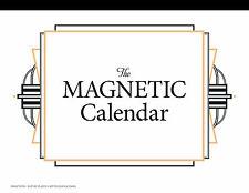2019 The Magnetic Calendar - Family Organizer - Refrigerator Calendar