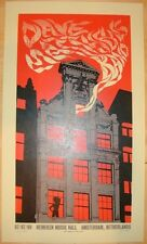 Dave Matthews Band Poster 09 Amsterdam Signed & Numbered #/400 Rare
