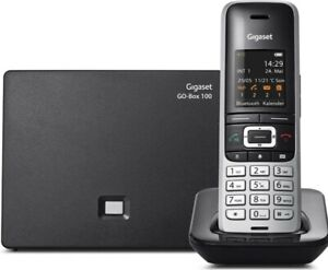 Gigaset S850A GO Hybrid VoiP Home Office Cordless Phone