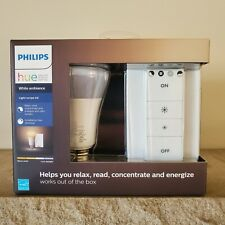 Philips Hue A19 Dimmable LED Light Bulb Starter Kit Energy Saver Smart Bulb NEW