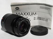 MINOLTA Maxxum AF 80-200mm F4.5-5.6 Lens fo MINOLTA MAXXUM SONY ALPHA SN22226982