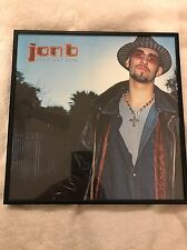 Music Memorabilia Jon B Greatest Hits (2002) Cover Framed