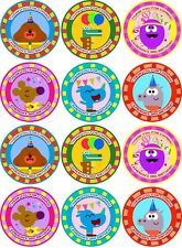 Hey Duggee - 12 personalised Stickers - Printable for bag - Thank you