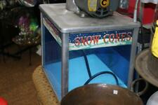 New Listingechols 1950s Model103 Snow Cone Machine Works Great Cup Stack Amp Pumpers
