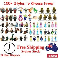 Miniatures Set - Building Block Compatible - Superhero Princess Toy Accessory