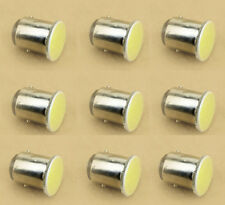 10X 12V DC White 1157 BAY15D COB 12SMD Car Signal Tail Turn Light LED Bulb