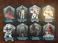 Topps Star Wars Force Awakens Power of the First Order set 1-8