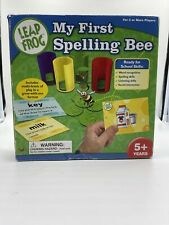 Leap Frog My First Spelling Bee Words Spell Preschool First Grade Cards Levels