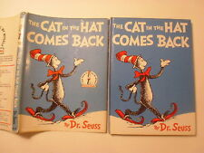 The Cat in the Hat Comes Back, Dr Seuss, DJ, Early Edition, 1962