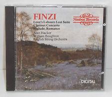 NI 5101 Finzi Love's Labours Lost Clarinet Concerto Prelude Romance / Boughton