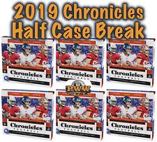KANSAS CITY CHIEFS 2019 Panini Chronicles Football Half Case Break #3