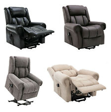Baildon fabric leather electric dual motor riser and recliner chair FREE SET-UP