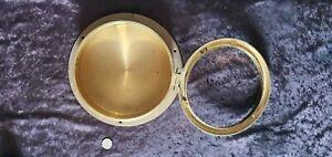 Brass nautical housing compass ships clock binnacle instruments