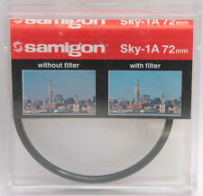 72mm Sky 1A Filter - Samigon Photo Lens Filter - Korea - ASEF721A - NEW G11