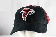 Atlanta Falcons Black/Red NFL  Baseball Cap Adjustable