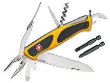 Wenger Taschenmmesser Ranger 174, rostfrei, Teilsägezahnung, 6 Werkzeuge, Bits,