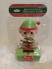 New Dancing Solar Powered Character Dancing Elf with own solar panel