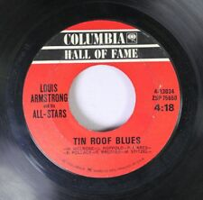 Jazz 45 Louis Armstrong And His All-Stars - Tin Roof Blues / Mack The Knife On C