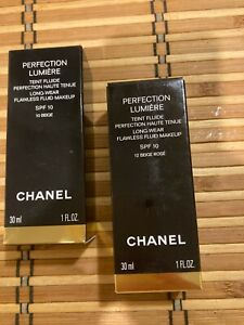 Chanel Perfection Lumiere Long-Wear Flawless Fluid Makeup  various col NEW&BOXED
