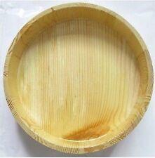 Copper Band Wooden Sushi Oke Rice Tub 23.5in Japanese kitchen tool wood cake