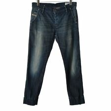 Diesel Joyze Women Denim Jeans size W30 L32 faded D. blue Jogger Stretch pants