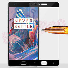 FULL SIZE COVERAGE TEMPERED GLASS SCREEN PROTECTOR FOR ONEPLUS 3T ONE PLUS 1+3T