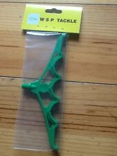 course fishing small green plastic rod rest