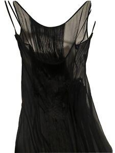 Alberta Ferretti Sheer Silk Dress 12 (6)